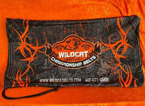 Belt Carrying Bag - Wildcat Championship Belts