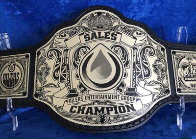 Edmonton Oilers Sales Championship Belt