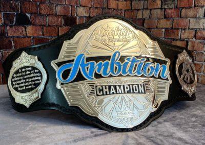 Quality Pro Wrestling Championship Belt