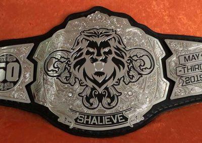 Pittsburgh Steeler Ryan Shazier Wedding Championship Belt