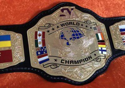 SVSA Wrestling Championship Belt