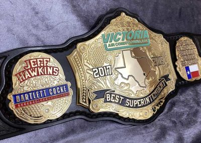 Victoria Air Conditioning Championship Belts