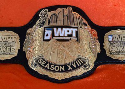 World Poker Tour Championship Belt