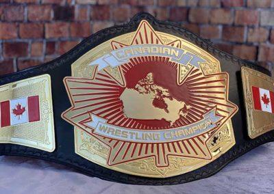Canadian Wrestling Alliance Championship Belt