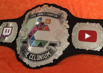 Game Crunch Championship Belt