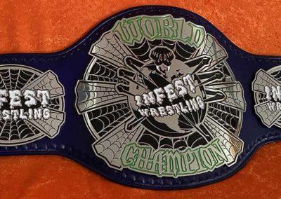 Infest Wrestling Championship Belt
