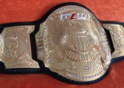 MLW Major League Wrestling National Openweight Championship Belt