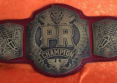 PR Championship Belt