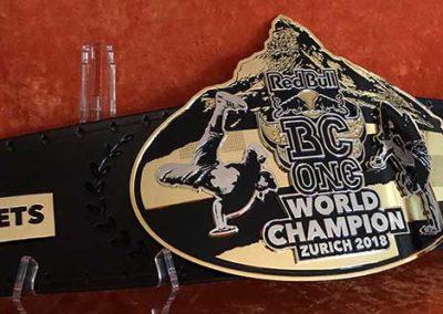 Redbull BC One Breakdancing Championship Belt