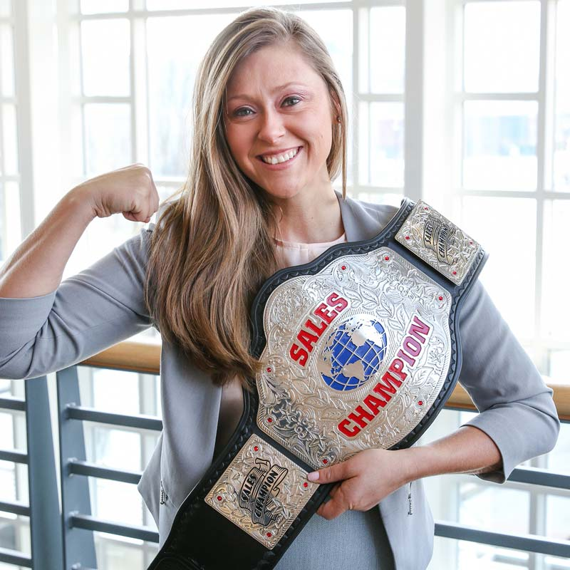 Custom Title Designers - Wildcat Championship Belts