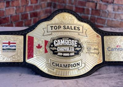 Camrose Chrysler Sales Championship
