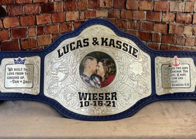 Weiser Wedding Belt